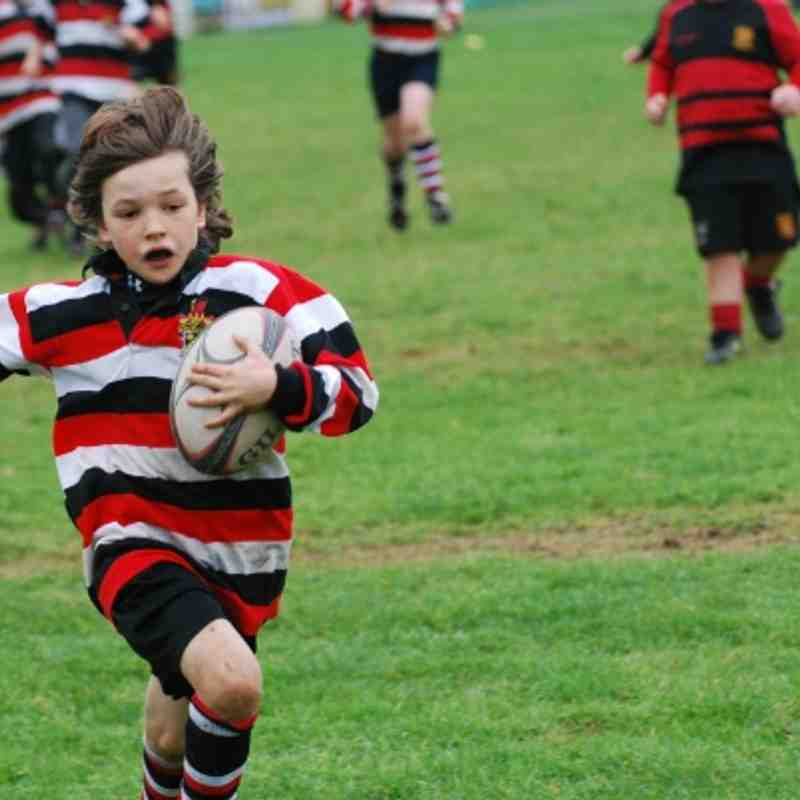 Frome U9s at St. Ivel Barbarians