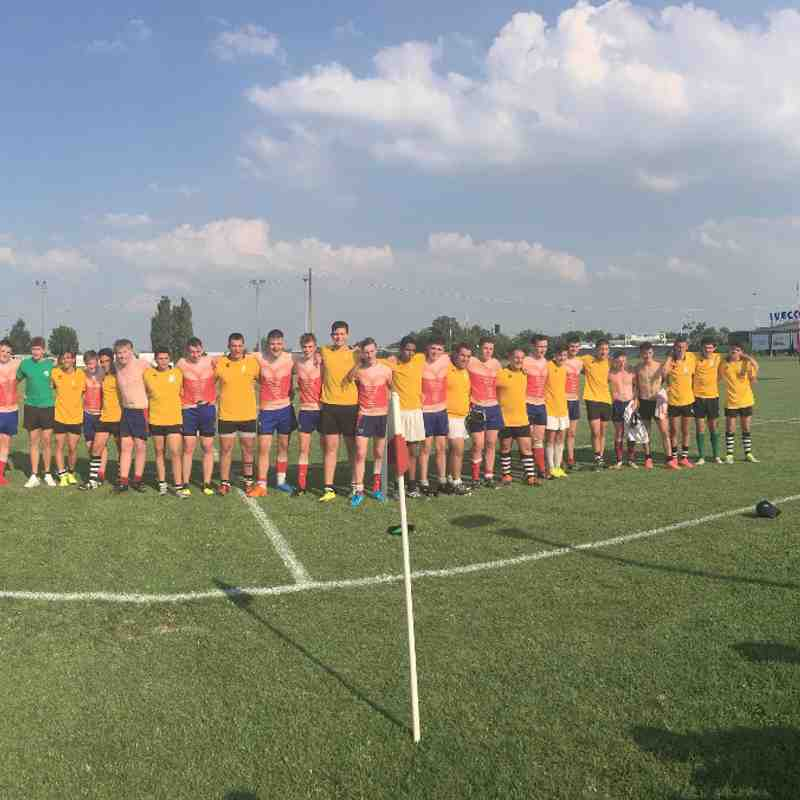 Jnr Colts Italy Tour 2016