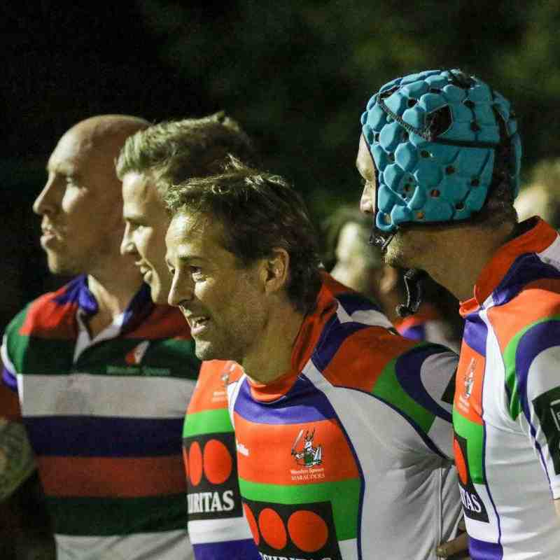 Andy Gomarsall & Swans Players in Wooden Spoon Invitation XV
