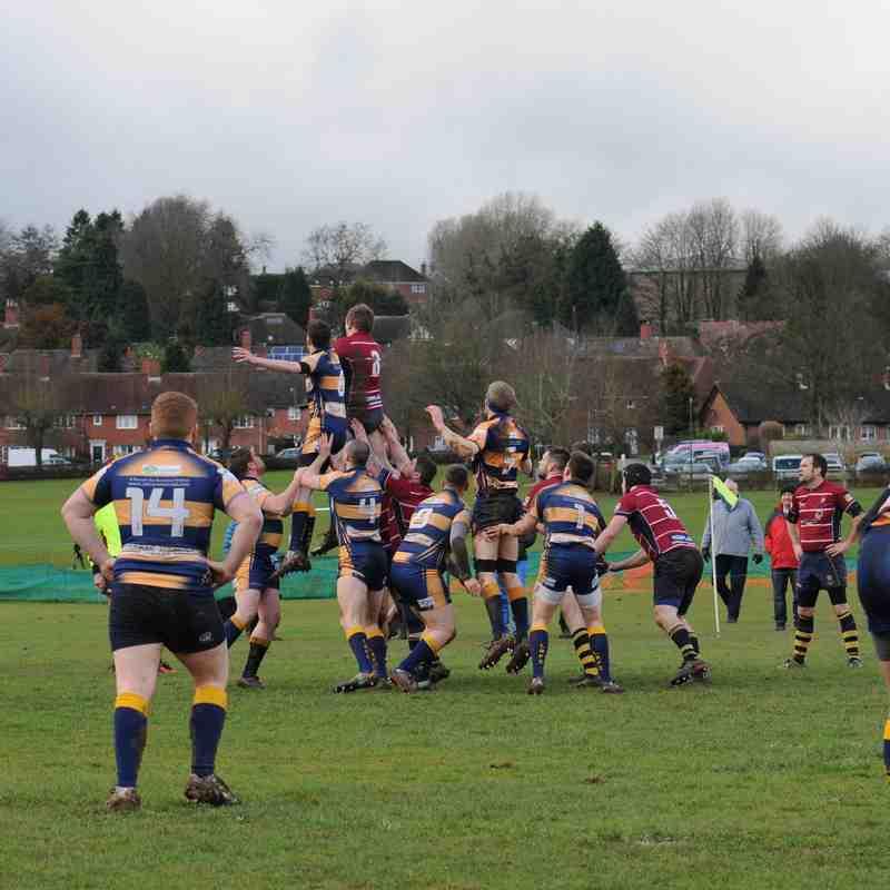 Saturday 28th Jan Ists  v loughborough mud bath by Peter Banks