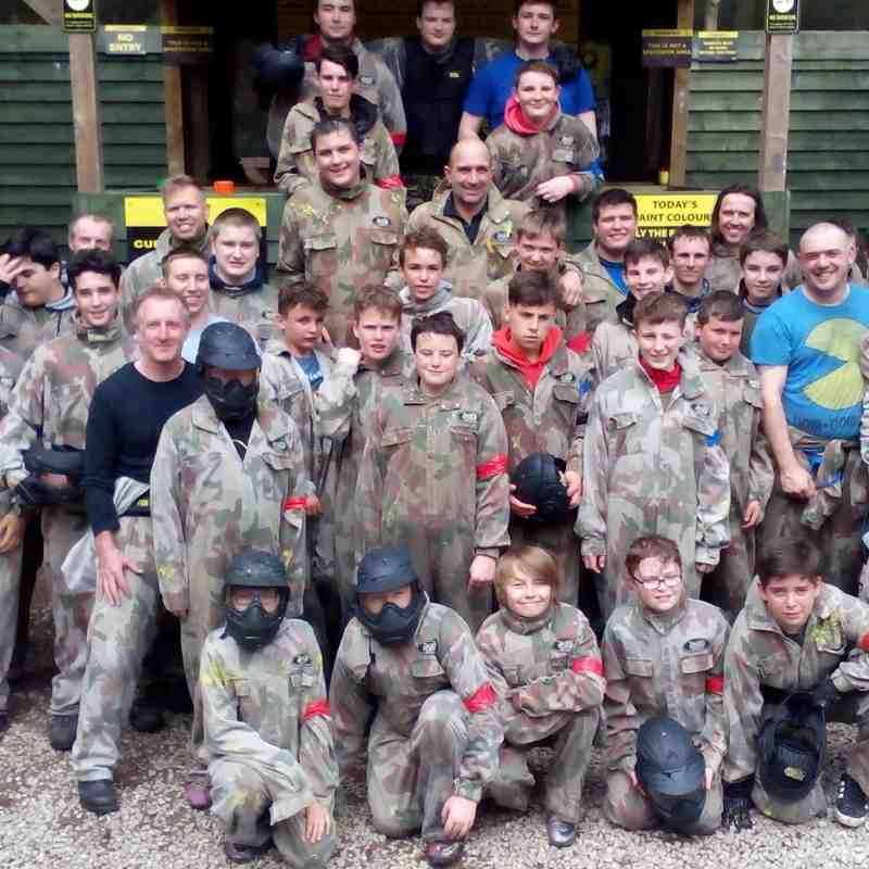 paint balling 4th june 2016