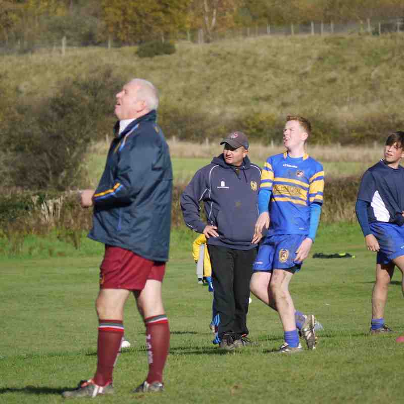 U14/15 v Matlock 5th Nov 2017
