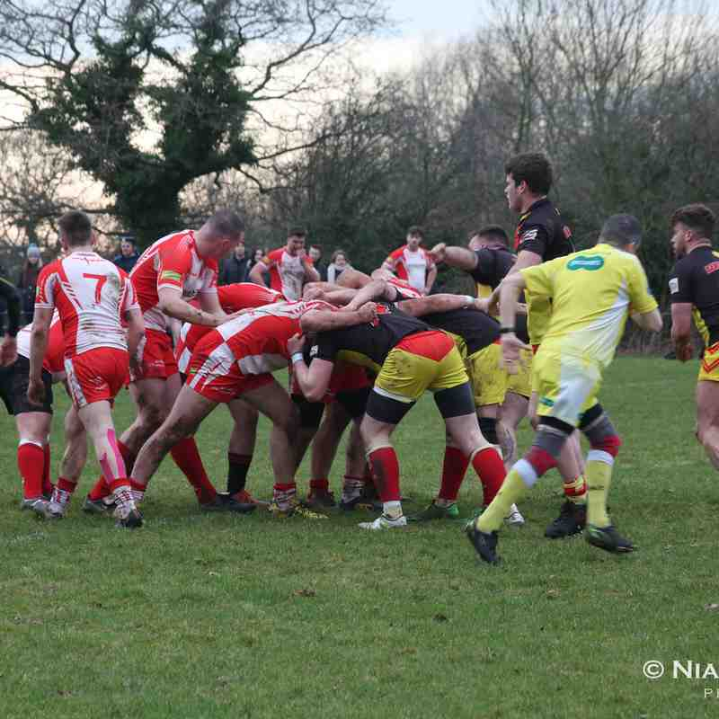 Leyland warriors open age Vs Bamber Bridge 18.02.2017