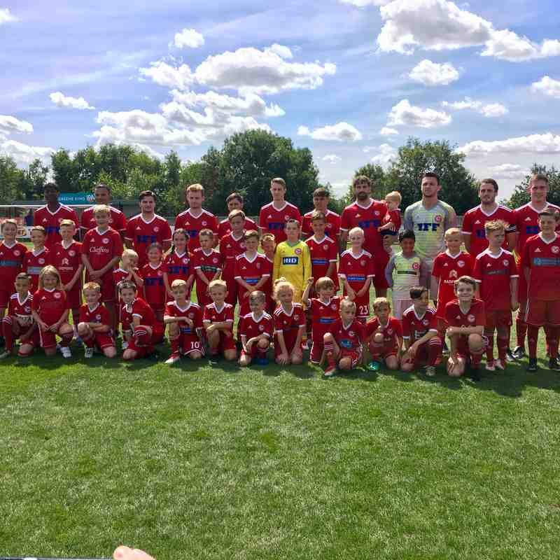 FA Cup Prelimary Round - 11 Aug 18 (The Mascots)