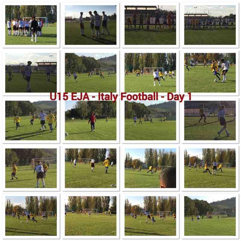 U15 EJA - Football Tournament - Italy 2018