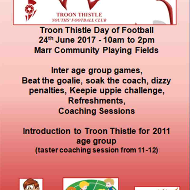 Troon Thistle Fun Day
