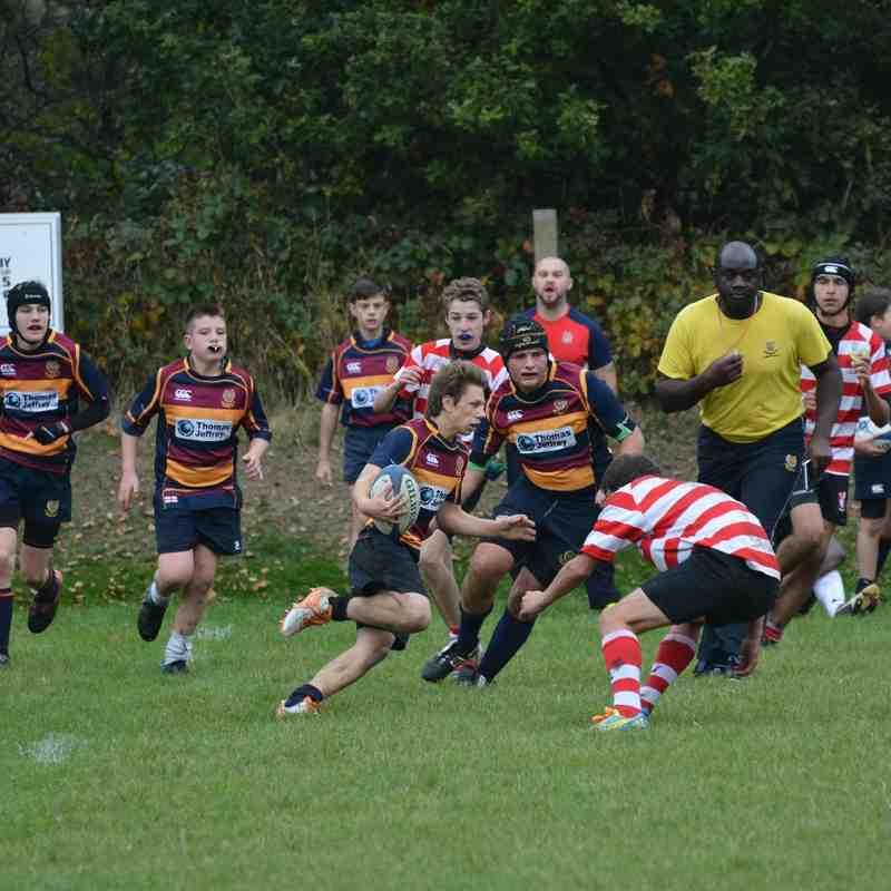 U15 v Earlsdon - 18th October 2015