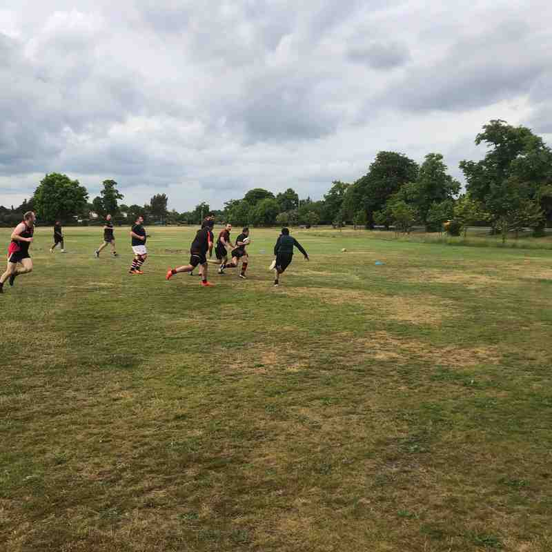 Touch Session 5th June