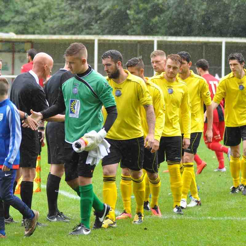 FA Cup game Hamworthy `v` Brislington