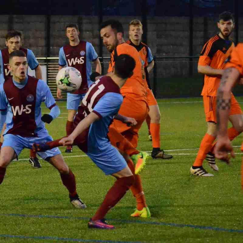 21/01/17 Hamworthy draw against Andover 1-1