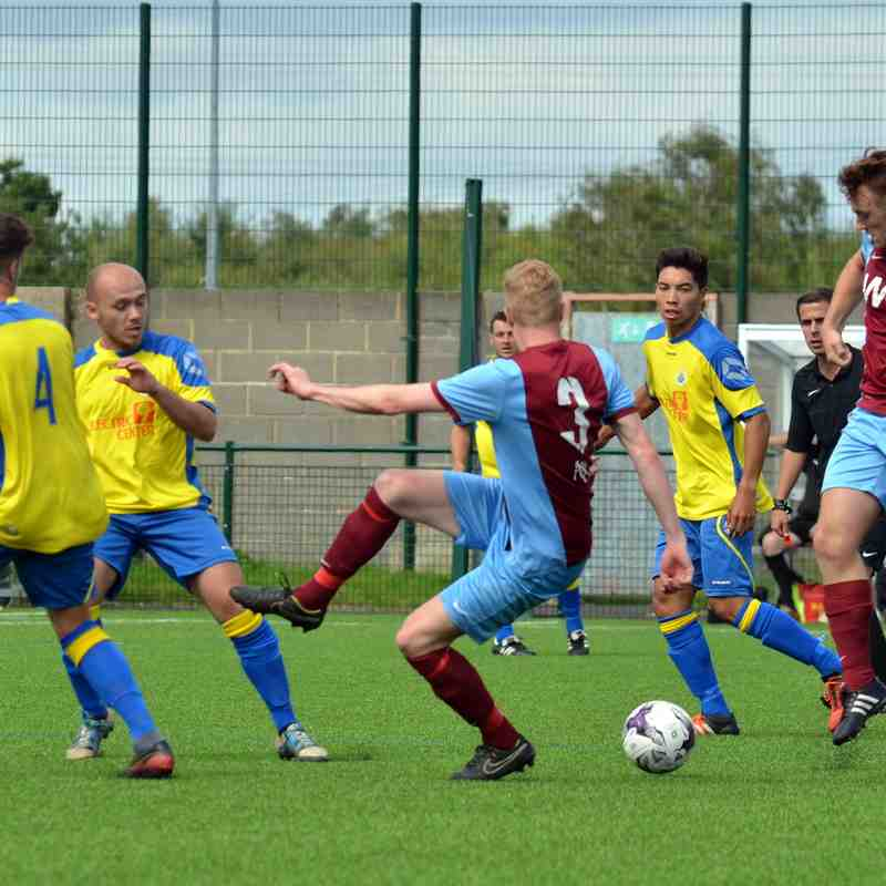 Hammers victory against IOW 4-1