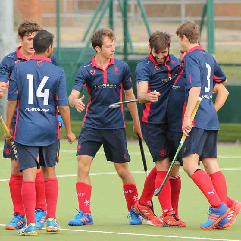 Men's 1st XI v Cambridge City - Sun 16 Oct 2016