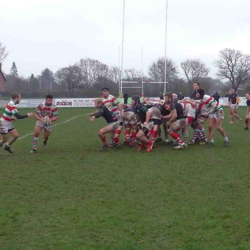 1st XV v Warrington (H) 19 Jan 19