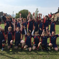 First win of the season U12s 2016