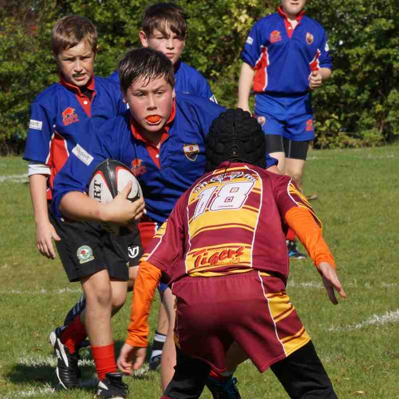 U13 vs Sedgley Park 21 September 2014