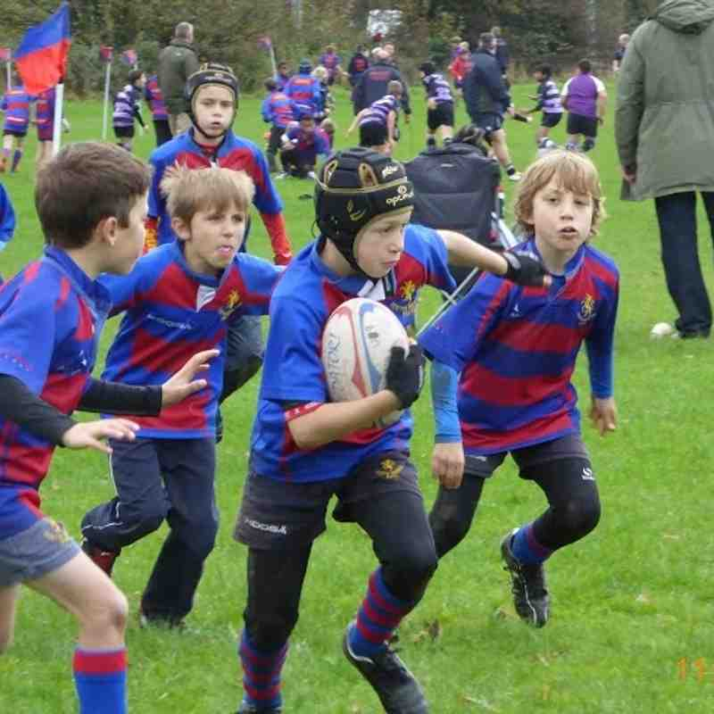 North Bristol U9s vs Clifton