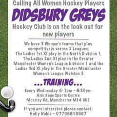 Didsbury Greys News