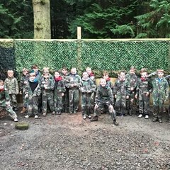 u9s xmas paintballing @ Oakerwood