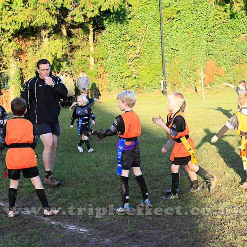 U8's Half Time Rugby Exhibition 22/11/14