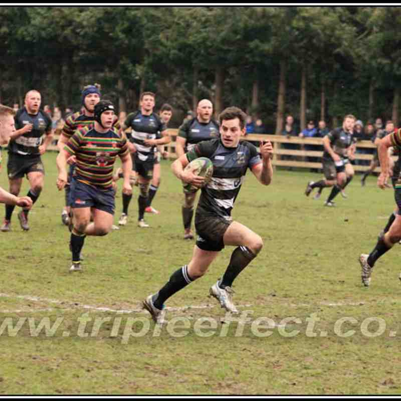 Bridgnorth 1sts v Northampton Old Scouts (H) 14/03/15
