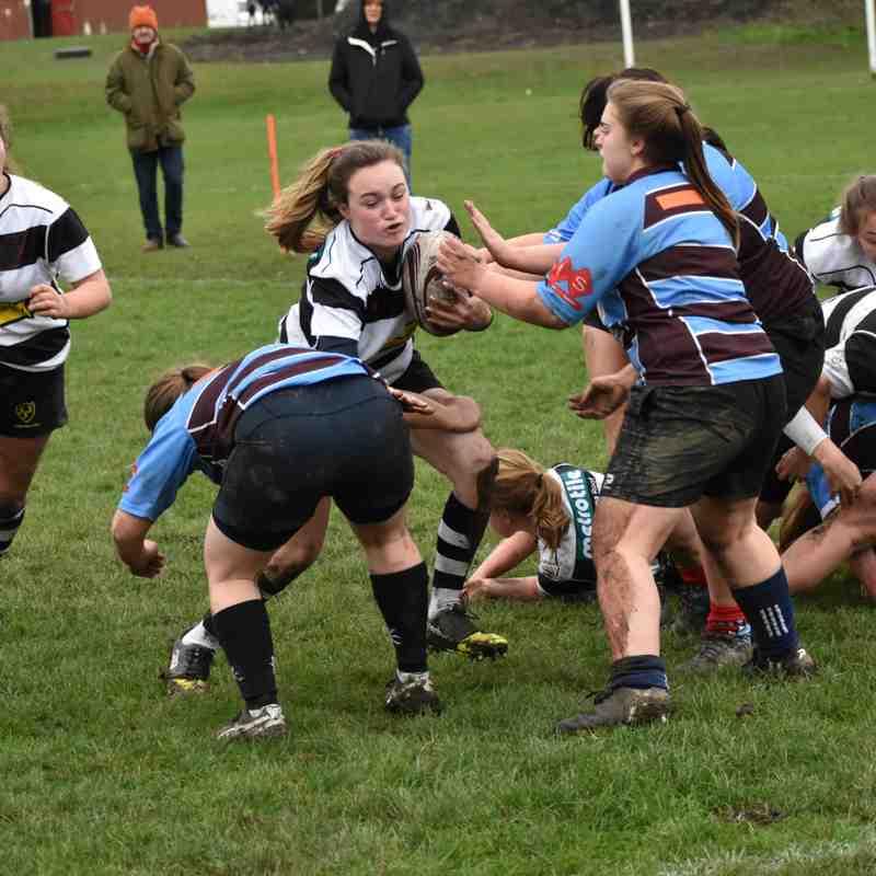 CRFC Girls U18 v Kingswood 161218