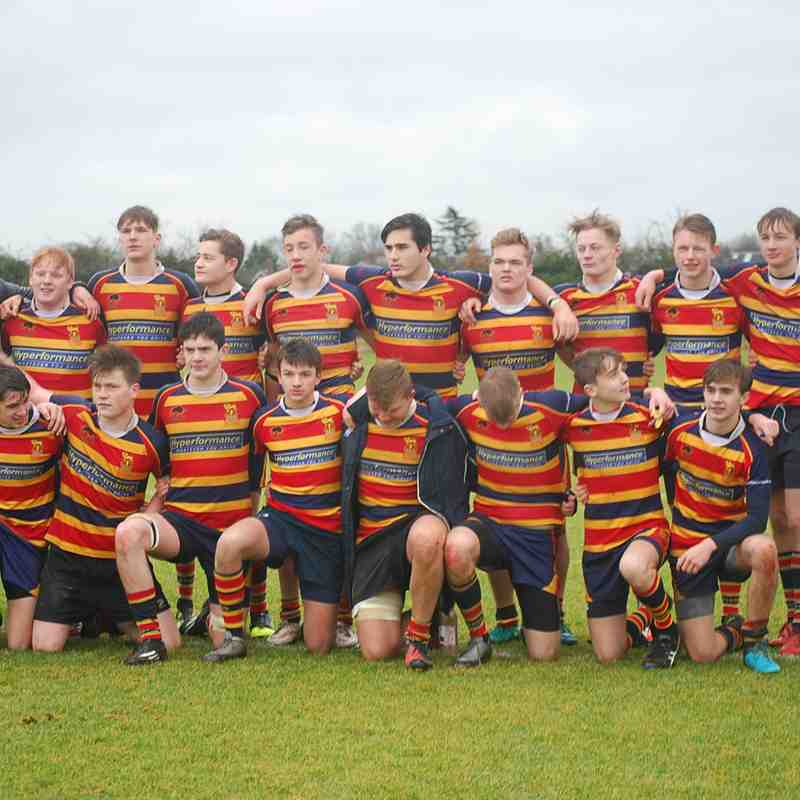U16 1XV - KCS v London Irish - Fantastic win for our club 28:22