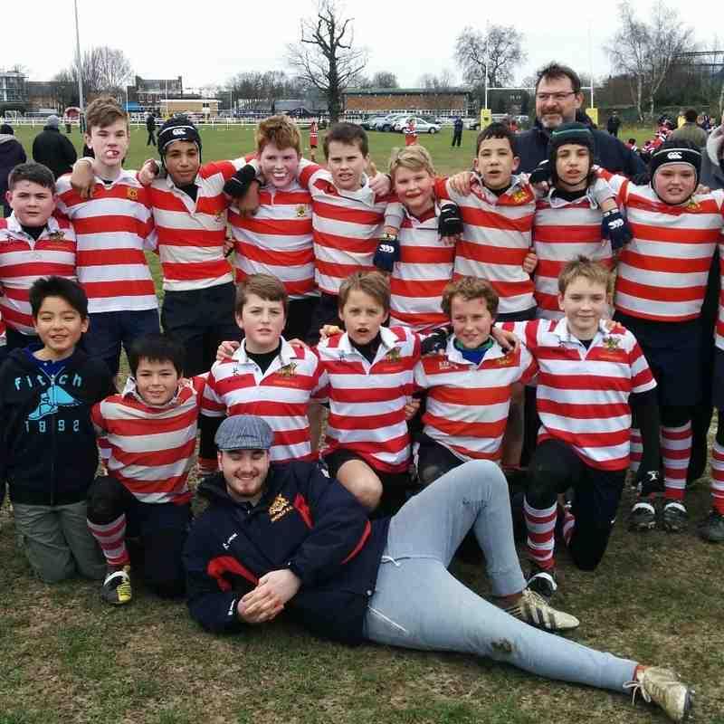U12 Middlesex Finals 20th March 2016