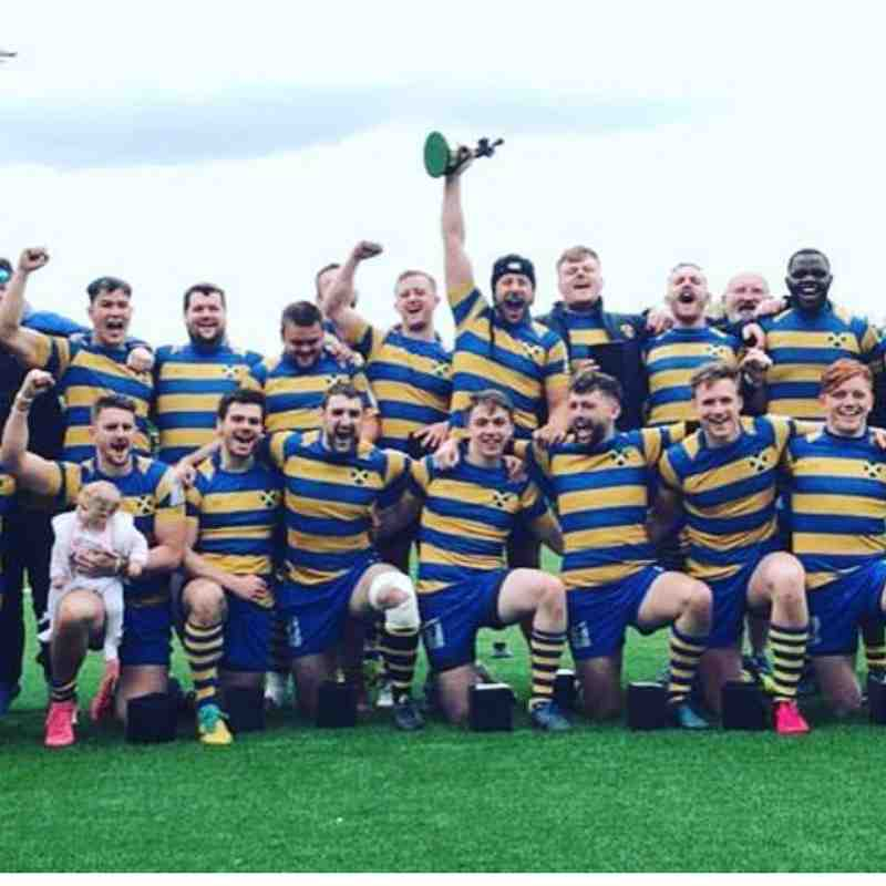1st&2nd XV Cup Winners April 2019
