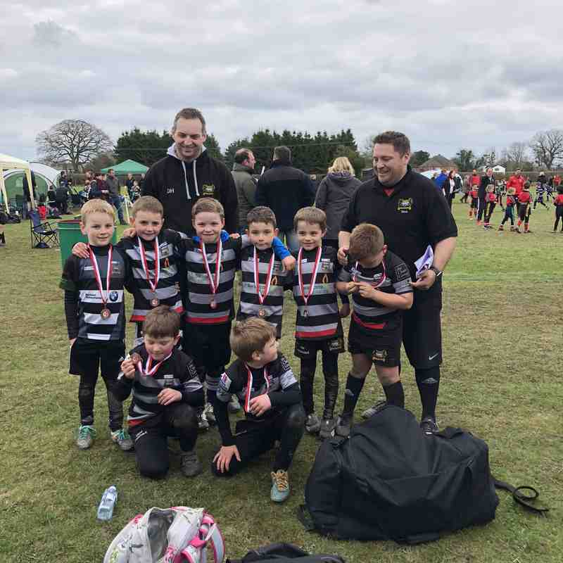 Under 7s Minotaurs - Luctonians Festival - 8th April 2018