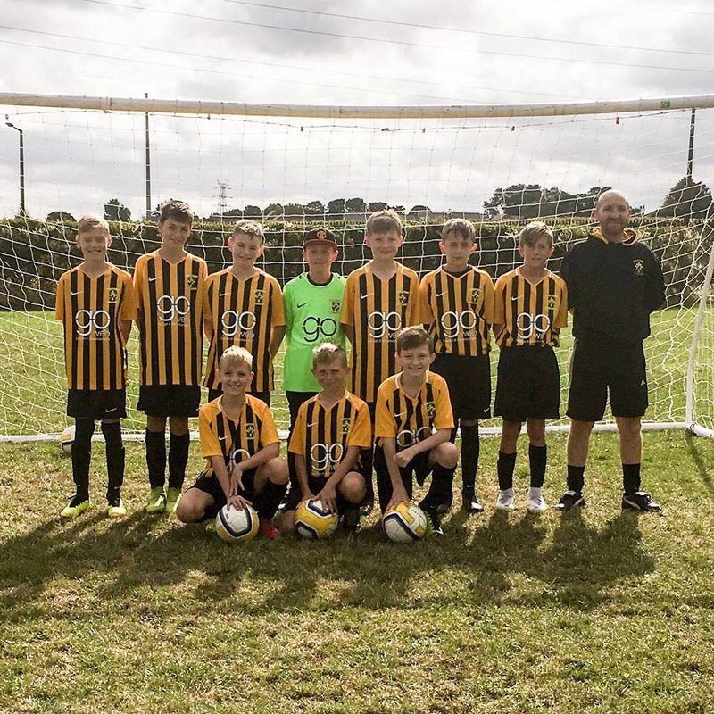 Under 12s - Blue beat Ecclesfield Spartans Black 0 - 1
