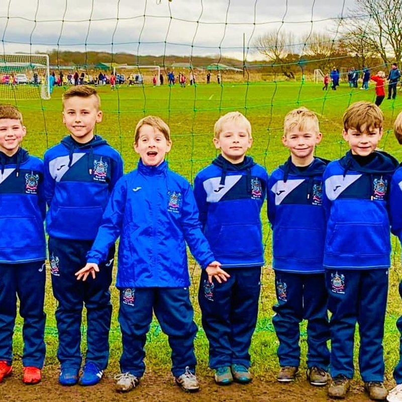 Under 7 Blue beat Formby Community FC 7 - 1