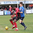 Match Report & Photos - Blues beaten by the Champions