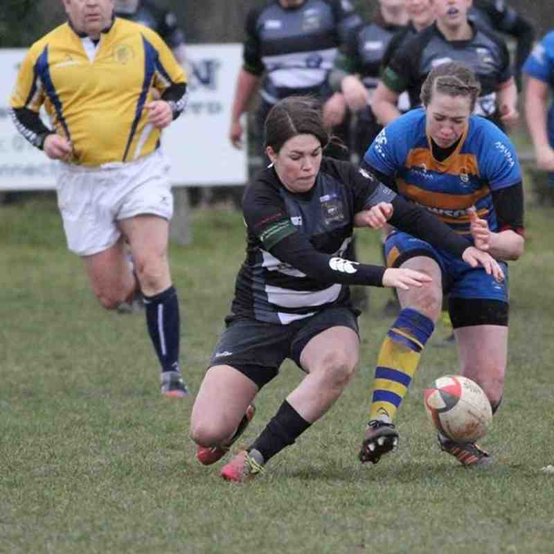 Womens 1st XV v Old Leamingtonians Ladies - 1st March 2015