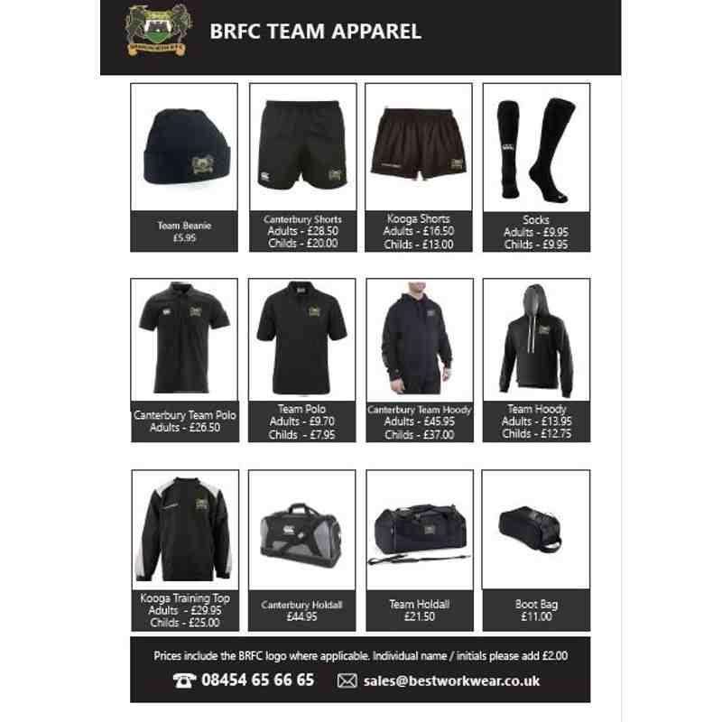 BRFC Kit Selection