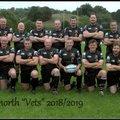 Knights beat Kidderminster Vets 15 - 18