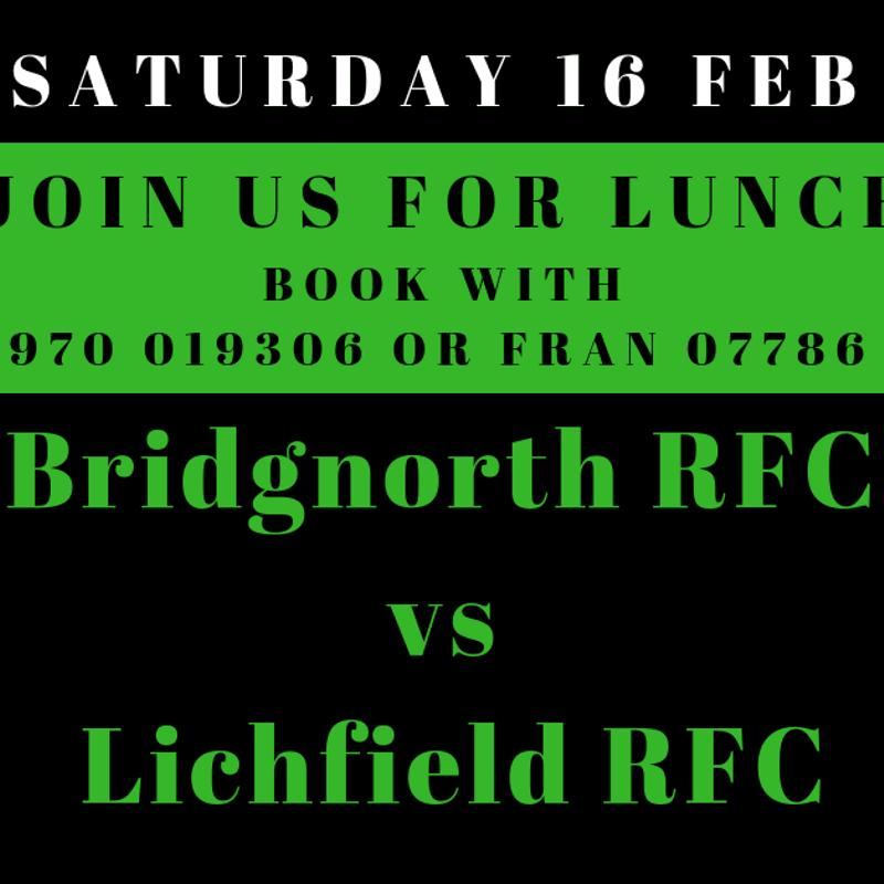 Bridgnorth RFC V Lichfield RFC