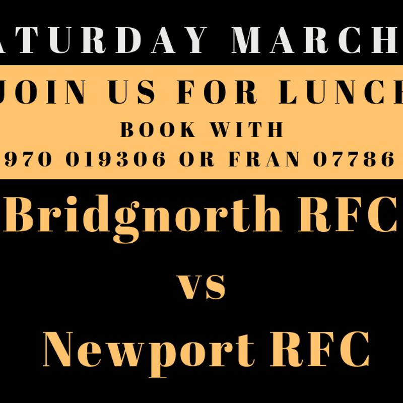 Bridgnorth RFC V Newport RFC