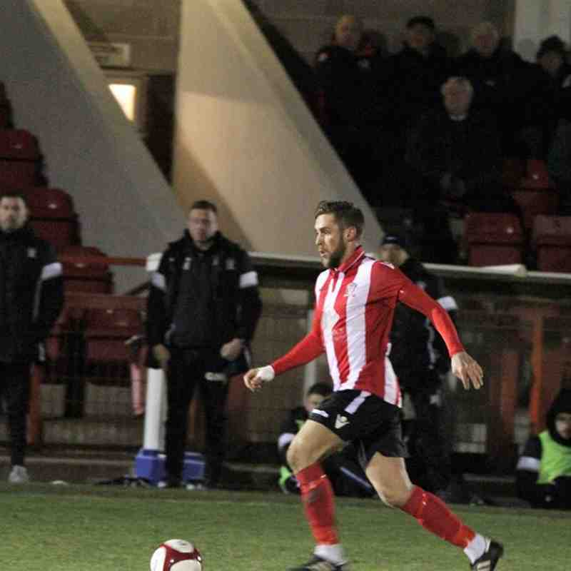 Witton Albion v Stourbridge 20/3/18 by Tyler Crouchman (behind goals) and Karl Brooks (touchline)
