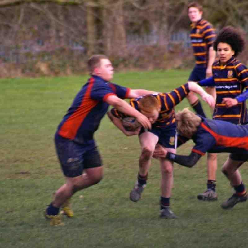 U16's Boxing Day B,ham Exiles
