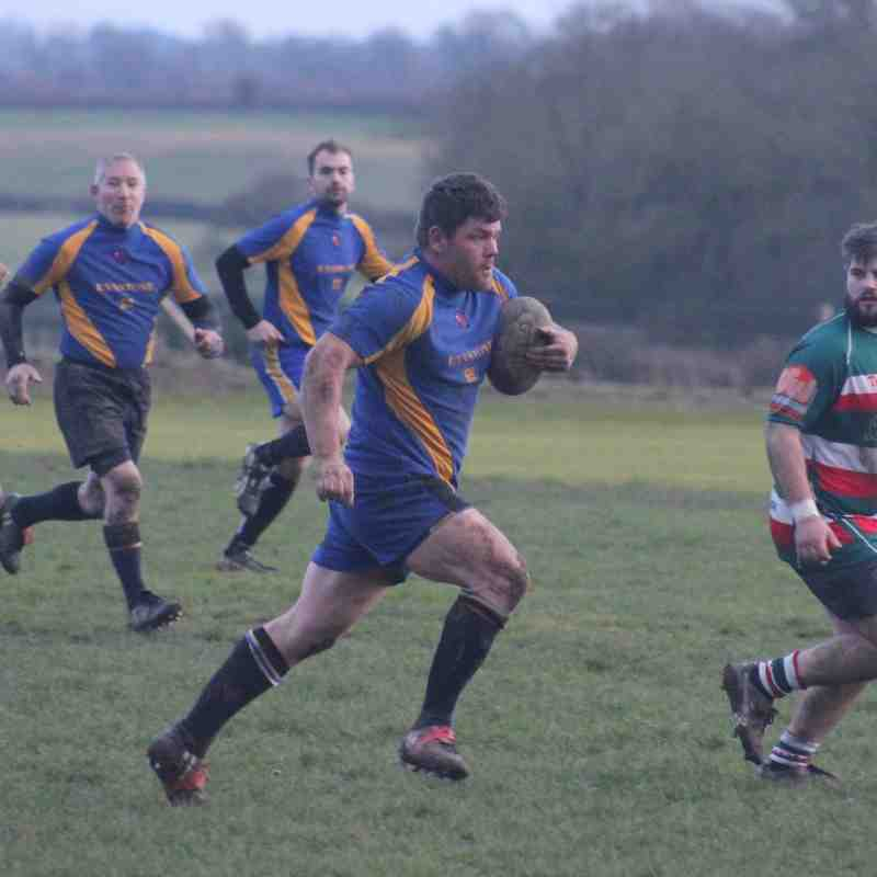 Bosworth 3rds V Lutterworth, January 2015