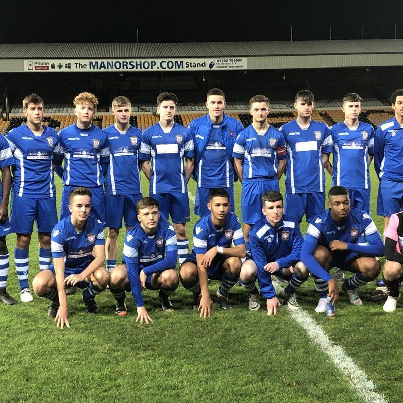 U18's 5 Newcastle 3