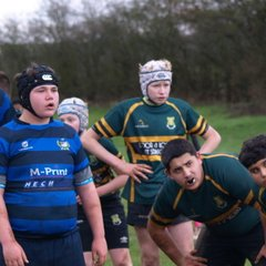 U14 XV at Syston in Cup Semi Final
