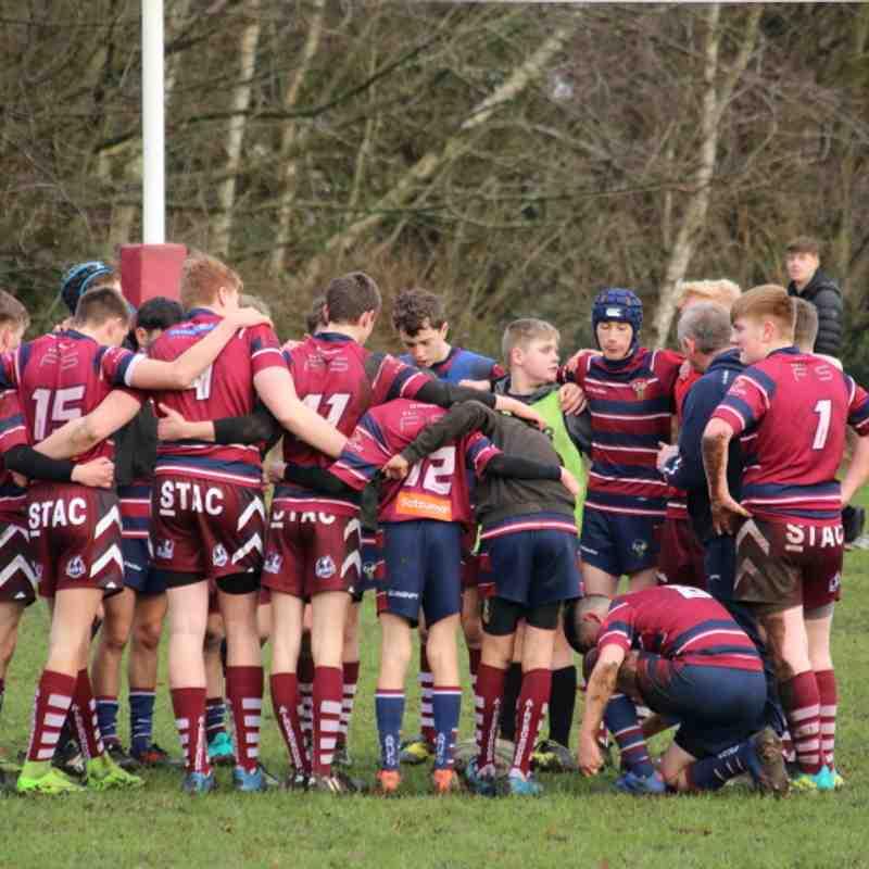 16/12/18 U15s vs Harrogate - Yorks Cup QF