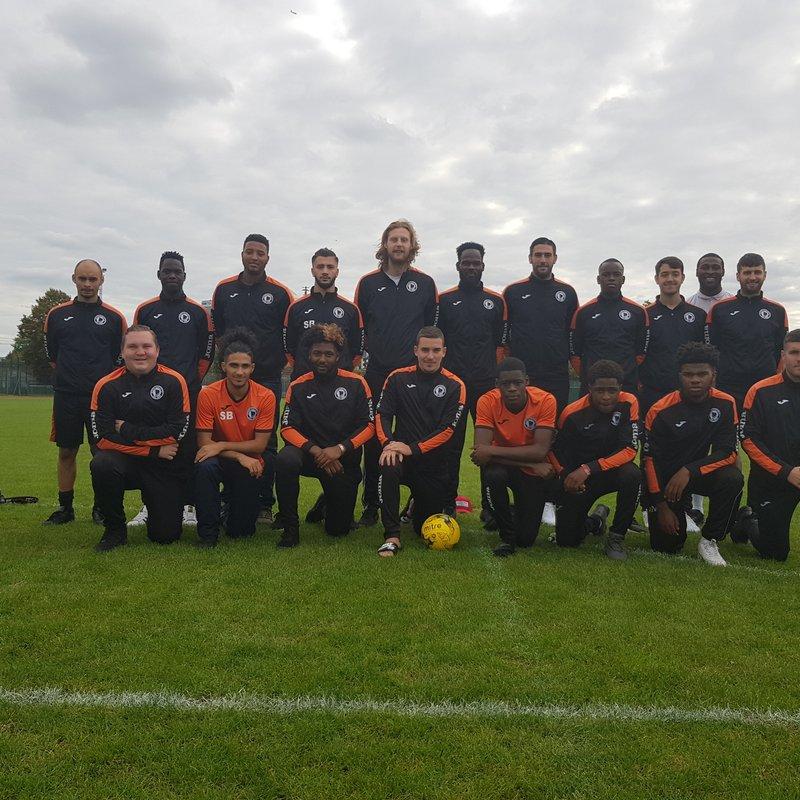 First Team beat Sporting Hackney FC