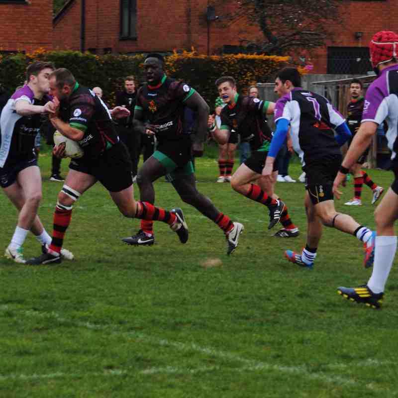 Coventry Dragons v Leicester Storm 02/05/2015