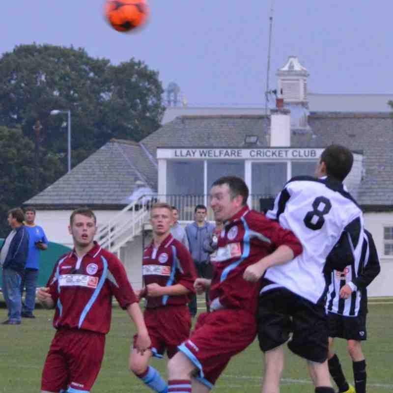 Llay Welfare FC v Llangollen Town FC 23-08-13