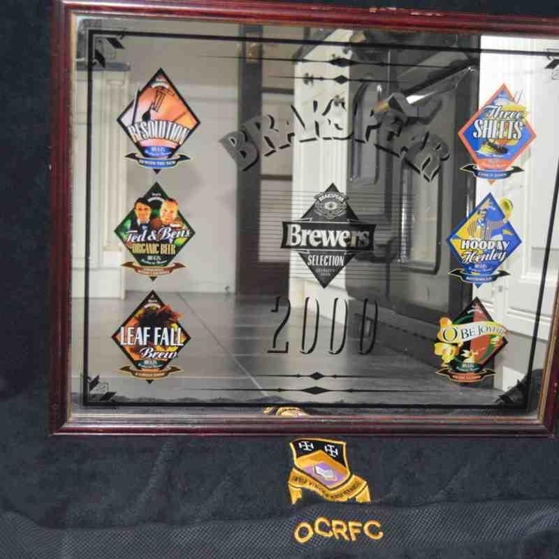OCRFC Memorabilia Auction Items