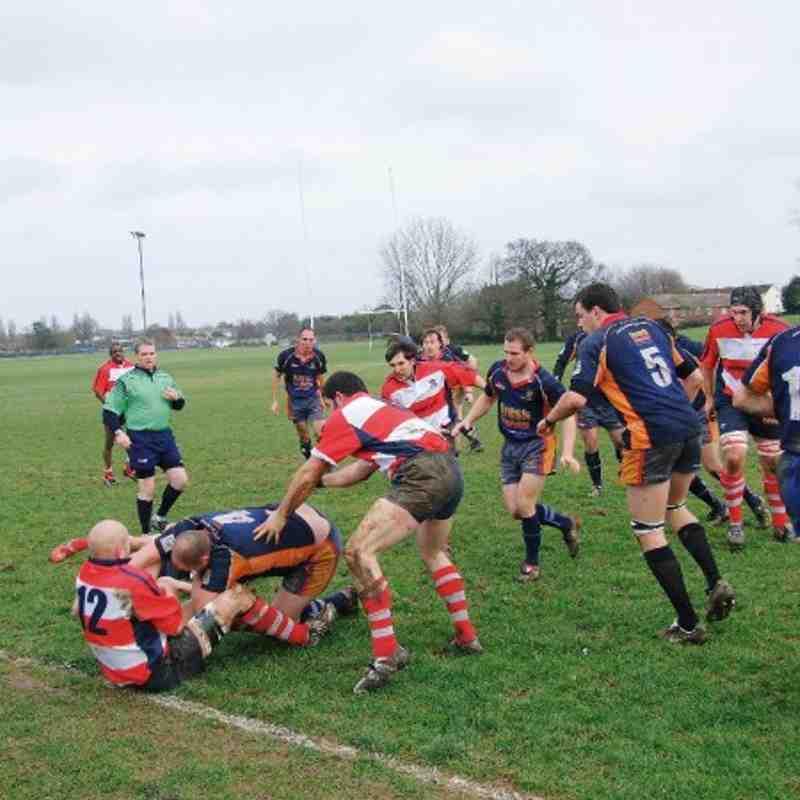 Saints v East Dorset 19/5/08