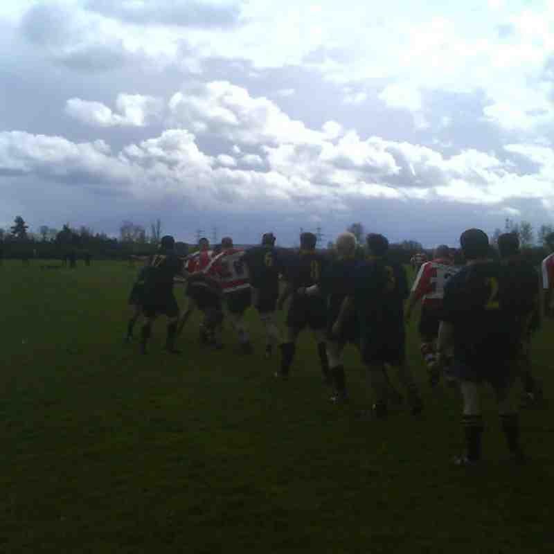Saints v Ellingham & Ringwood 12/04/08