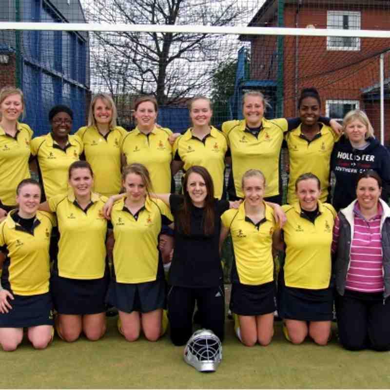 31.03.12 Sale Ladies 1's v South Cheshire Ladies